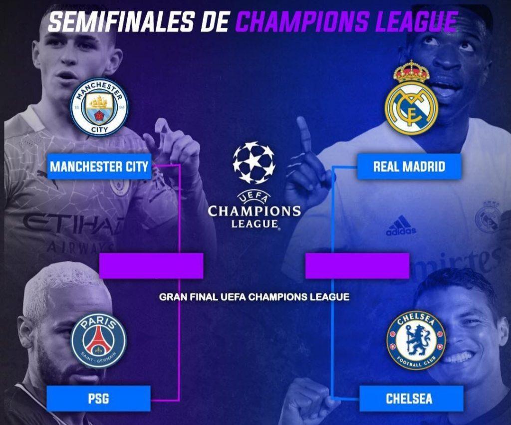 Real Madrid Tantang Chelsea, Manchester City Bersua Paris Saint Germain -  Pakuan Raya